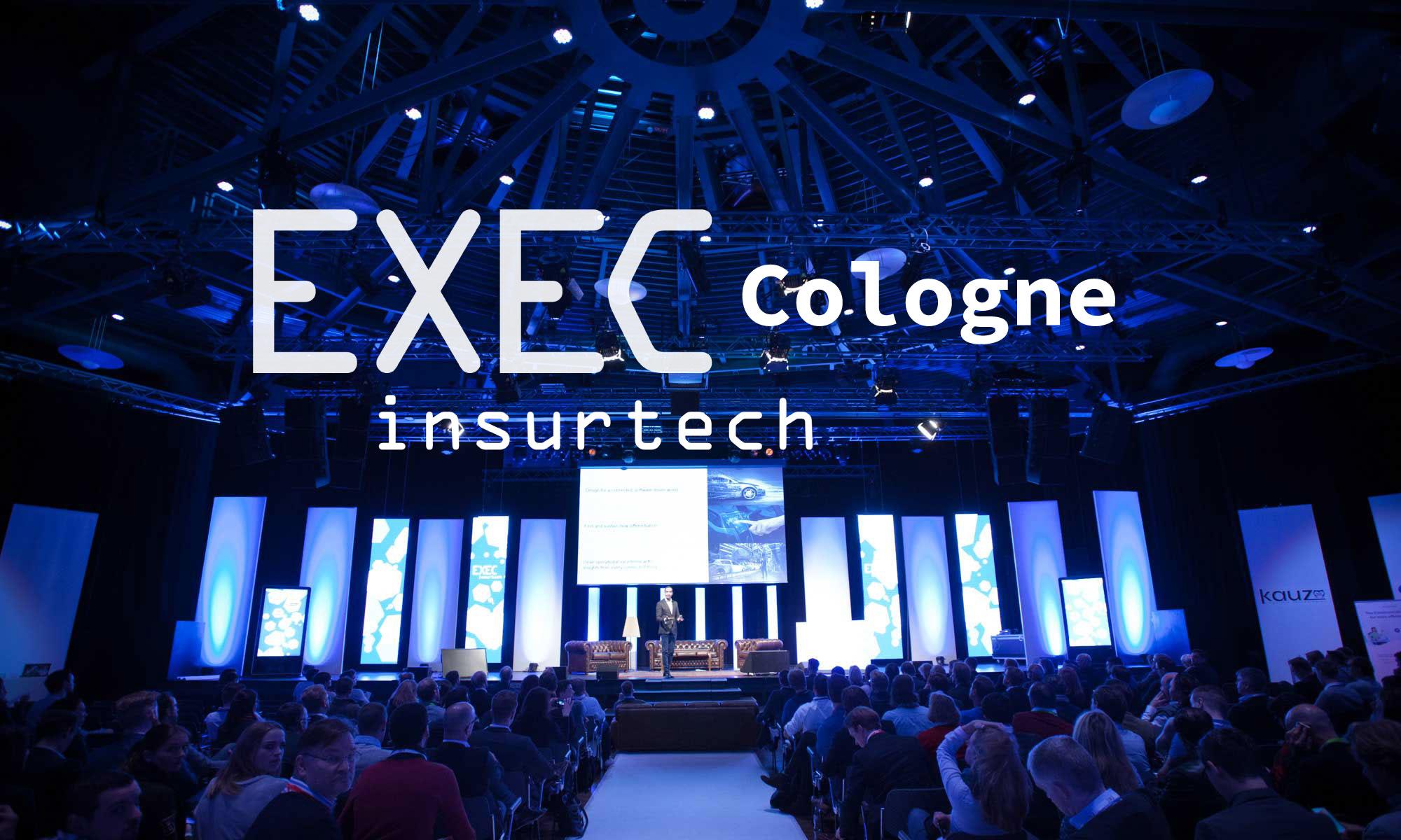 EXECInsurtech Cologne - Header