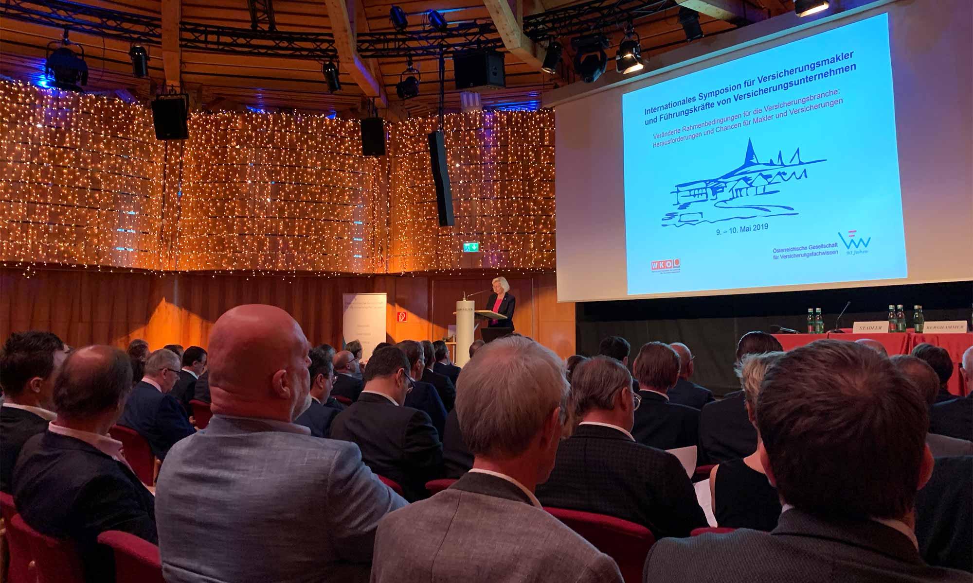 Symposium für Versicherungsmakler Velden