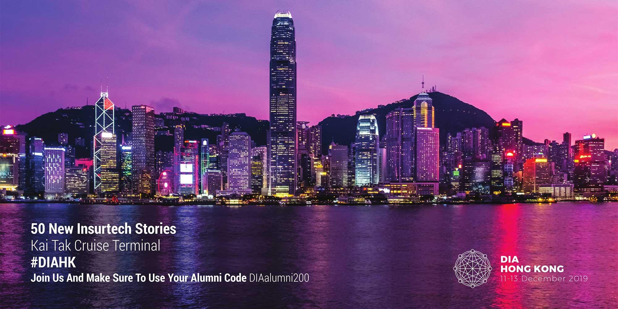 DIA Hong Kong in Dezember 2019