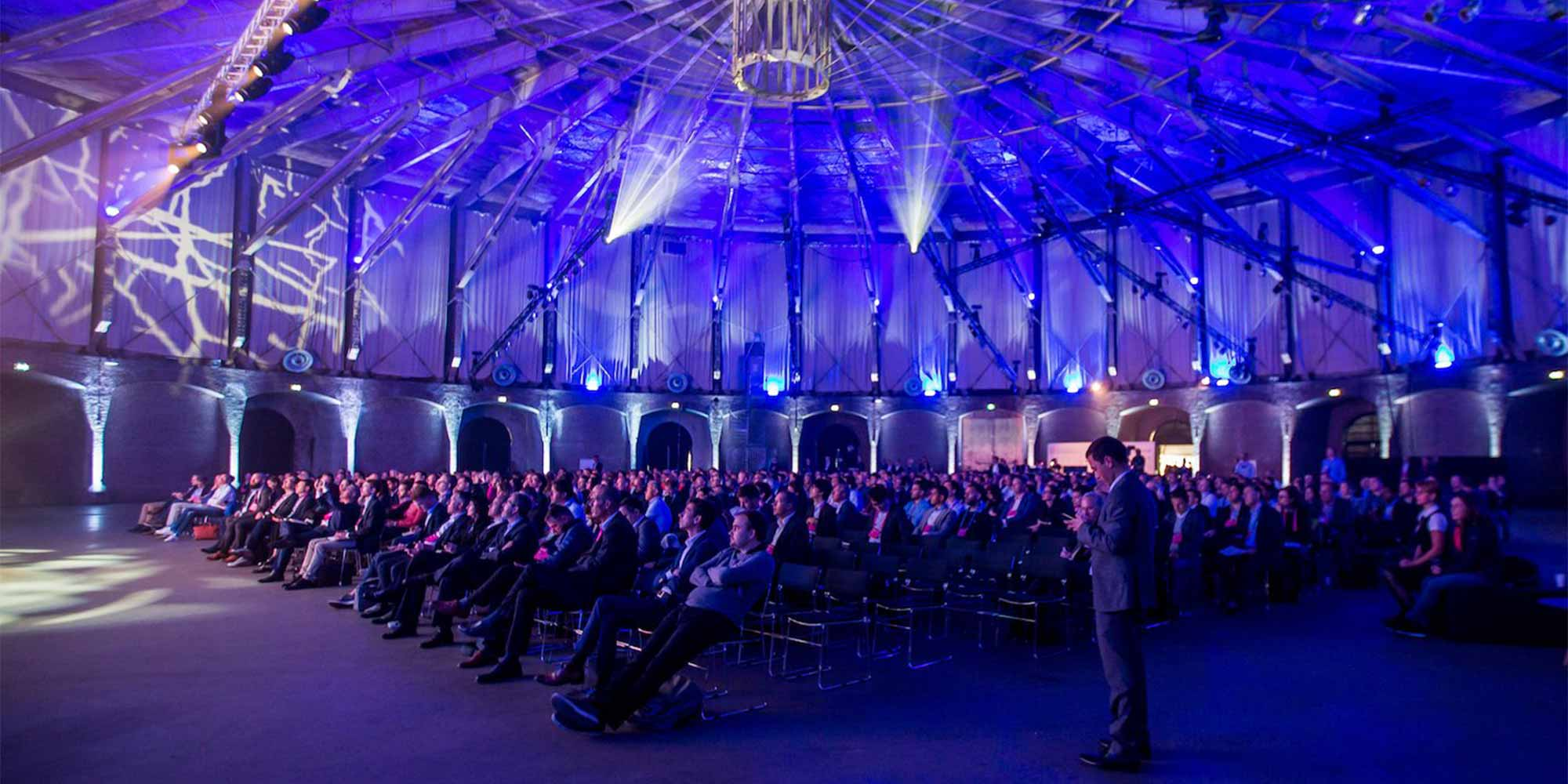 The audience at the Digital Insurance Agenda Amsterdam 2019