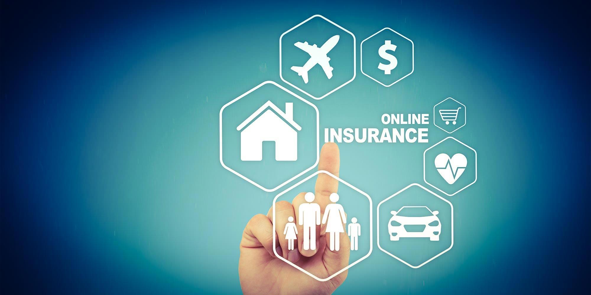 Funktionierendes Banken-Ökosystem mit Versicherungsprodukten